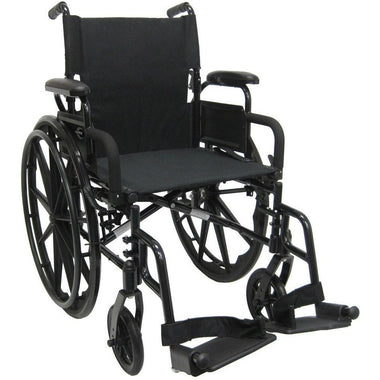 Karman Healthcare 802 DY Ultra Lightweight Manual Wheelchair-Manual Wheelchair-Karman Healthcare-Adept Mobility