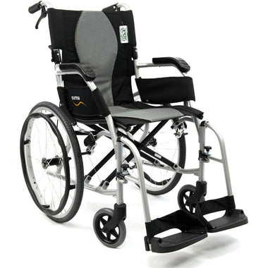 Karman Healthcare Ergo Flight S2512 Ultra Lightweight Wheelchair-Manual Wheelchair-Karman Healthcare-Adept Mobility