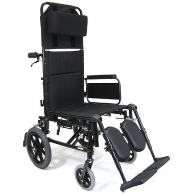 Karman Healthcare KM 5000 Transport Wheelchair-Manual Wheelchair-Karman Healthcare-Adept Mobility