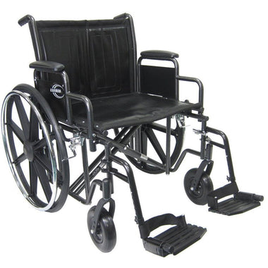 Karman Healthcare KN 922W Bariatric Wheelchair-Manual Wheelchair-Karman Healthcare-Adept Mobility