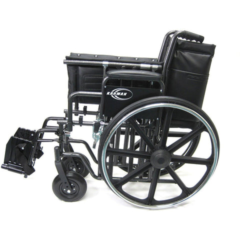 Karman Healthcare KN 924 26 28W Bariatric Wheelchair-Manual Wheelchair-Karman Healthcare-Adept Mobility