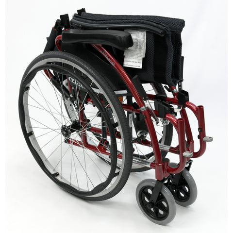 Karman Healthcare S Ergo 125 Ultra Lightweight Manual Wheelchair-Manual Wheelchair-Karman Healthcare-Adept Mobility