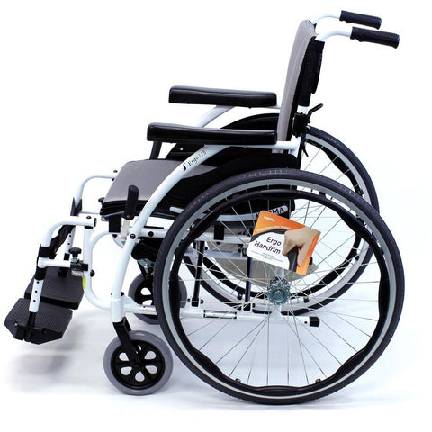 Karman Healthcare S Ergo Alpine White Ultra Lightweight Manual Wheelchair - able mobility