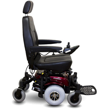 Shoprider Full Suspension 6Runner 10 Reliable Power Wheelchair 888WNLM-Power Wheelchair-Shoprider-Red-Adept Mobility