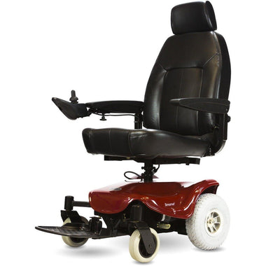 Shoprider Streamer Sport Comfortable Reliable Power Wheelchair 888WA-Power Wheelchair-Shoprider-Red-Adept Mobility