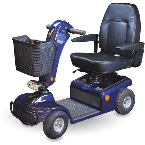 Shoprider Sunrunner 4 Wheeler Luxury Scooter 888B-4-Scooter-Shoprider-Blue-Adept Mobility