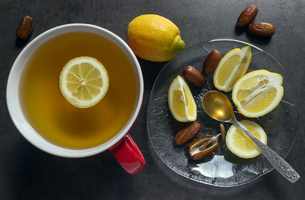 How to Make Honey Lemon Tea