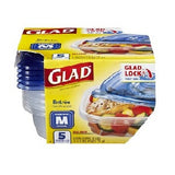 Glad Containers Entree Size 5 Count