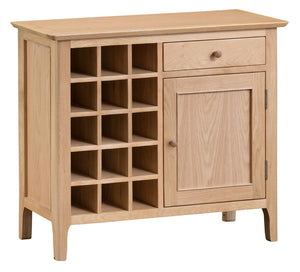 Newton Wine Cabinet - Every House Furniture