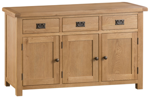 Country Oakham 3 Door 3 Drawer Sideboard