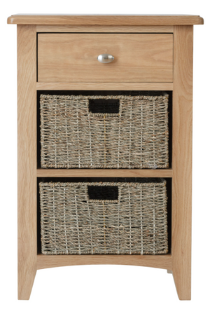 Greenwich 1 Drawer 2 Basket Unit