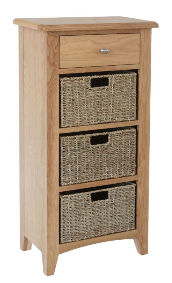 Greenwich 1 Drawer 3 Basket Unit