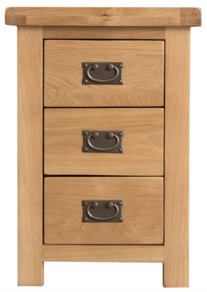 Country Oakham Large Bedside Cabinet