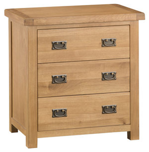 Country Oakham 3 Drawer Chest