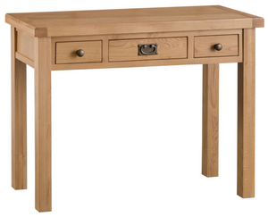 Country Oakham 3 Drawer Dressing Table