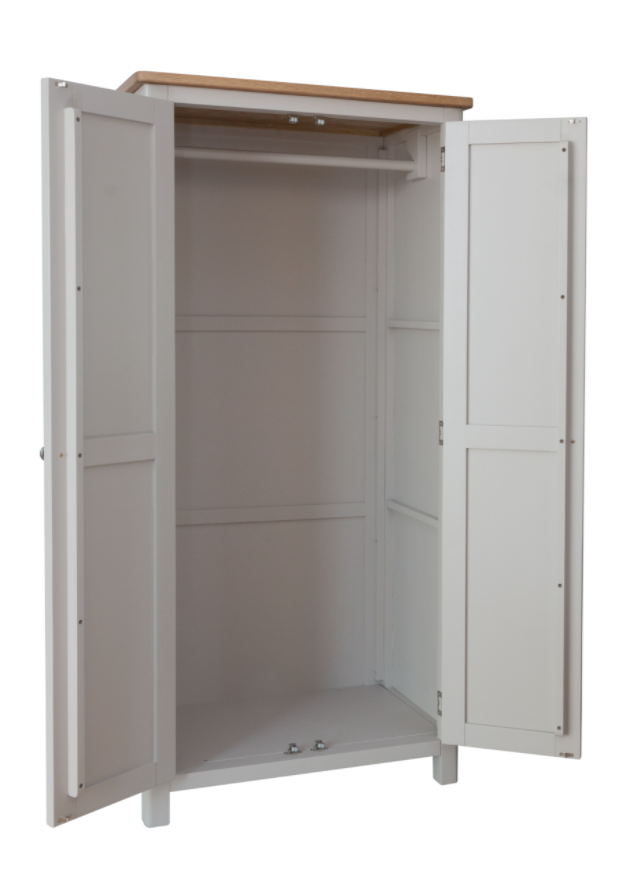 Radford 2 Door Full Hanging Wardrobe