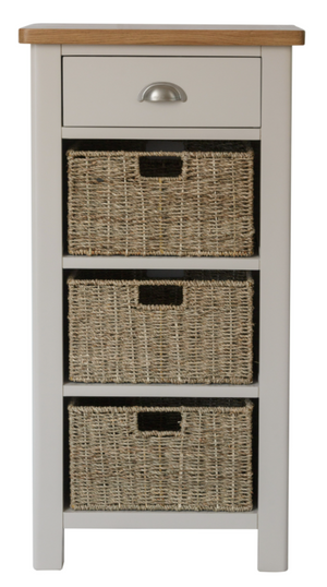 Radford 1 Drawer 3 Basket Unit