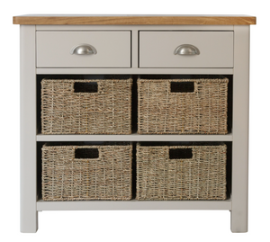 Radford 2 Drawer 4 Basket Unit