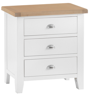 Thames White 3 Drawer Chest