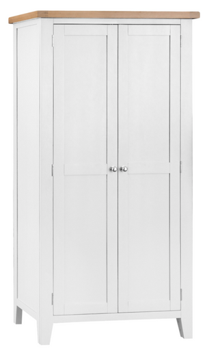 Thames White Full Hanging Wardrobe