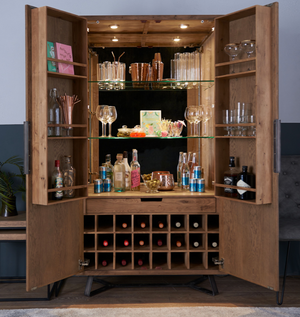 Brooklyn Wine Cabinet - Every House Furniture