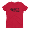 Believe Women - Women's Fitted Shirt