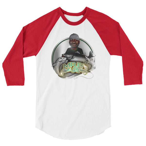 Mr. B's 3/4 sleeve raglan shirt