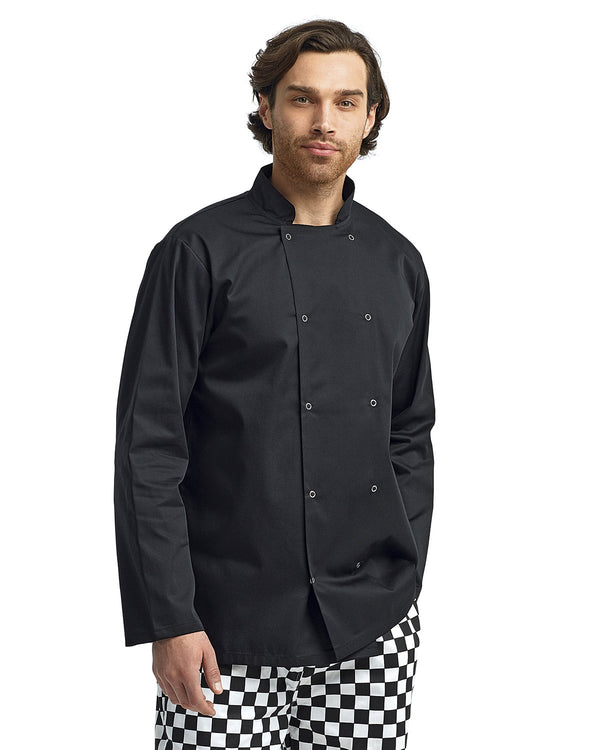 Unisex Studded Front Chef's Coat