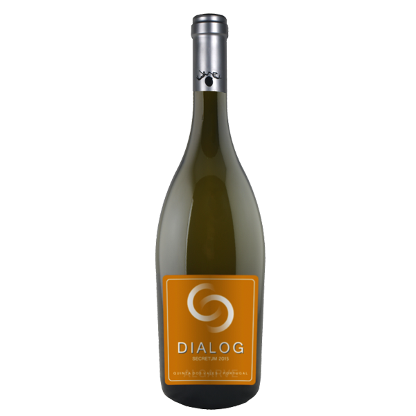 "Dialog Sectretum, Orange wine (Dry) it's delicate white wine flavours, combined with a touch of natural tannins, is ideal for all dishes where you cannot decide ""white or red""."