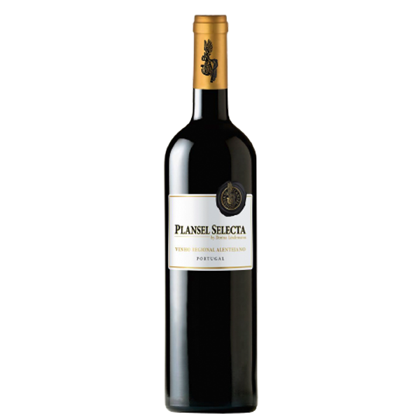 Plansel Selecta Tinto - This wine presents itself intensively purple red, is powerfully structured and aromas of dark fruits, seasonings and orange blossom.