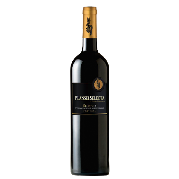 Plansel Selecta Reserva Tinto 2015 - Intense dark garnet colour. Sweet and concentrated wild fruit with soft floral hints. A touch of dark chocolate, vanilla and marzipan.