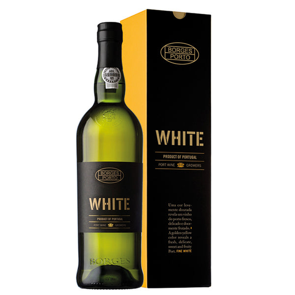 BORGES WHITE - Fresh fruity profile and partially aged.