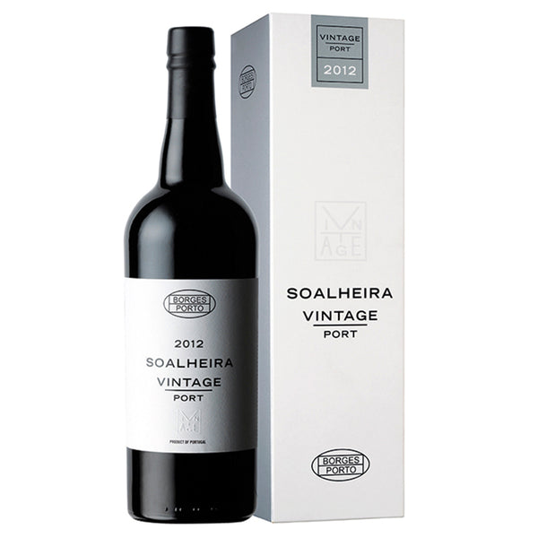 BORGES SOALHEIRA VINTAGE 2012 - Fruity and intense profile, with enormous complexity and capacity for aging