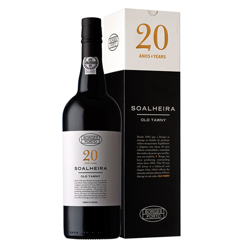BORGES SOALHEIRA OLD TAWNY 20 YEARS - Rich and complex profile with very notable notes of aging.