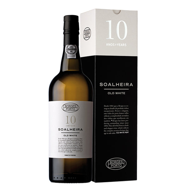 BORGES SOALHEIRA OLD WHITE 10 YEARS - Fresh and rich profile, with complex notes revealing its age.