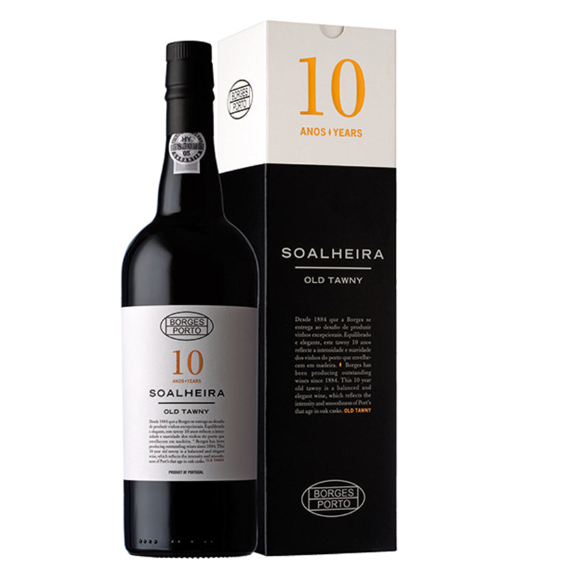 BORGES SOALHEIRA OLD TAWNY 10 YEARS - Fresh and rich profile, with notes of complexity arising from its age.
