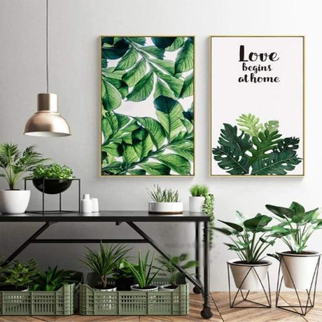 TipTip Botanical Canvas Art
