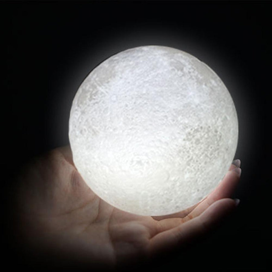 3D Print Moon Lamp Usb Led Night Light Moonlight Gift Touch Sensor Color Changing Home Bedroom Decoration