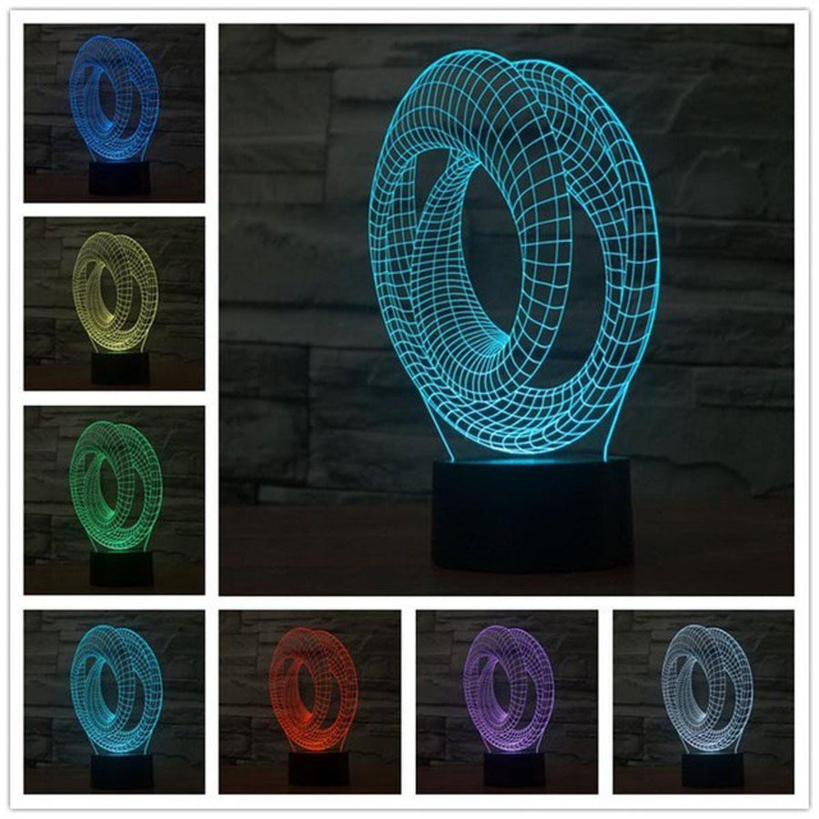 3D Infinity LED Lamp lamps Lamp diy-pipe-3d-lamp-fashion-table-lamp-luminaria-for-bedroom-art-decor-night-light-micro-usb-usb-led-3d-led-lamp 6