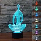 3D Meditation LED Lamp lamps Lamp 3d-meditation-led-lamp Default Title