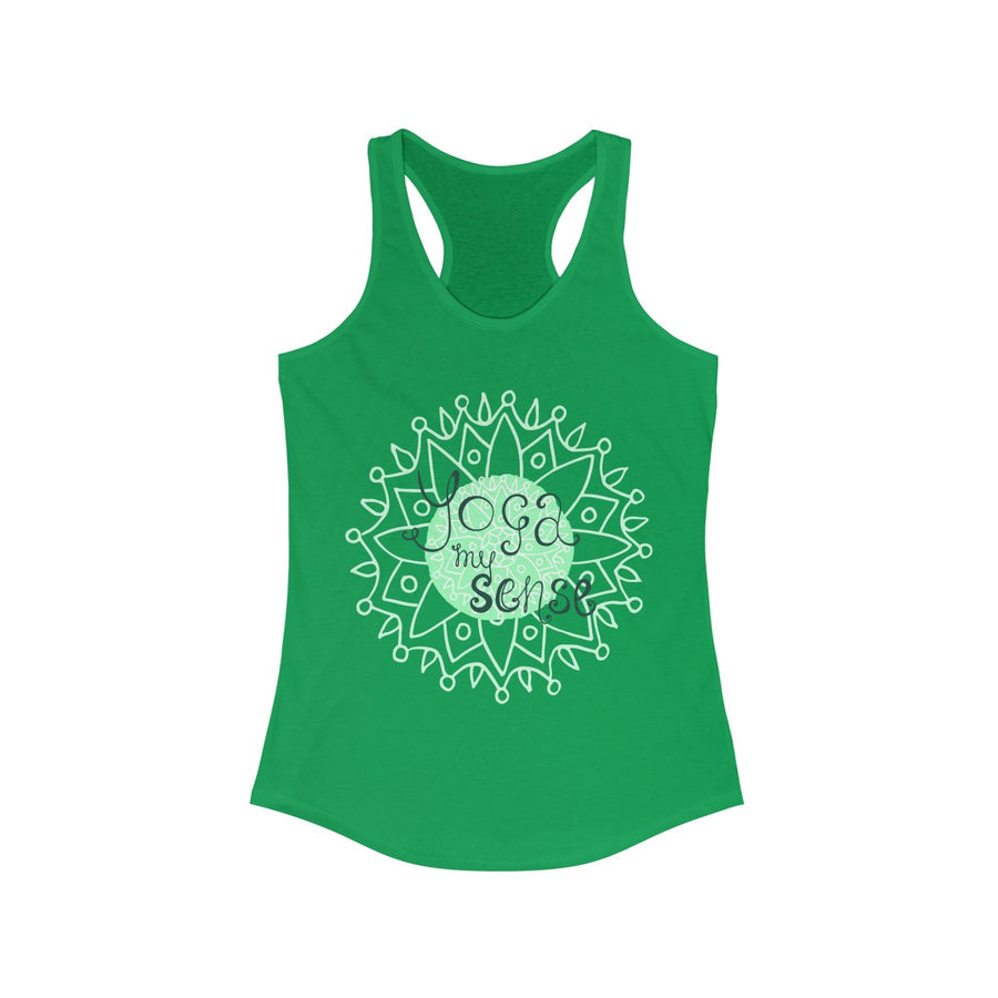 Yoga My Sense Racerback Tank Top