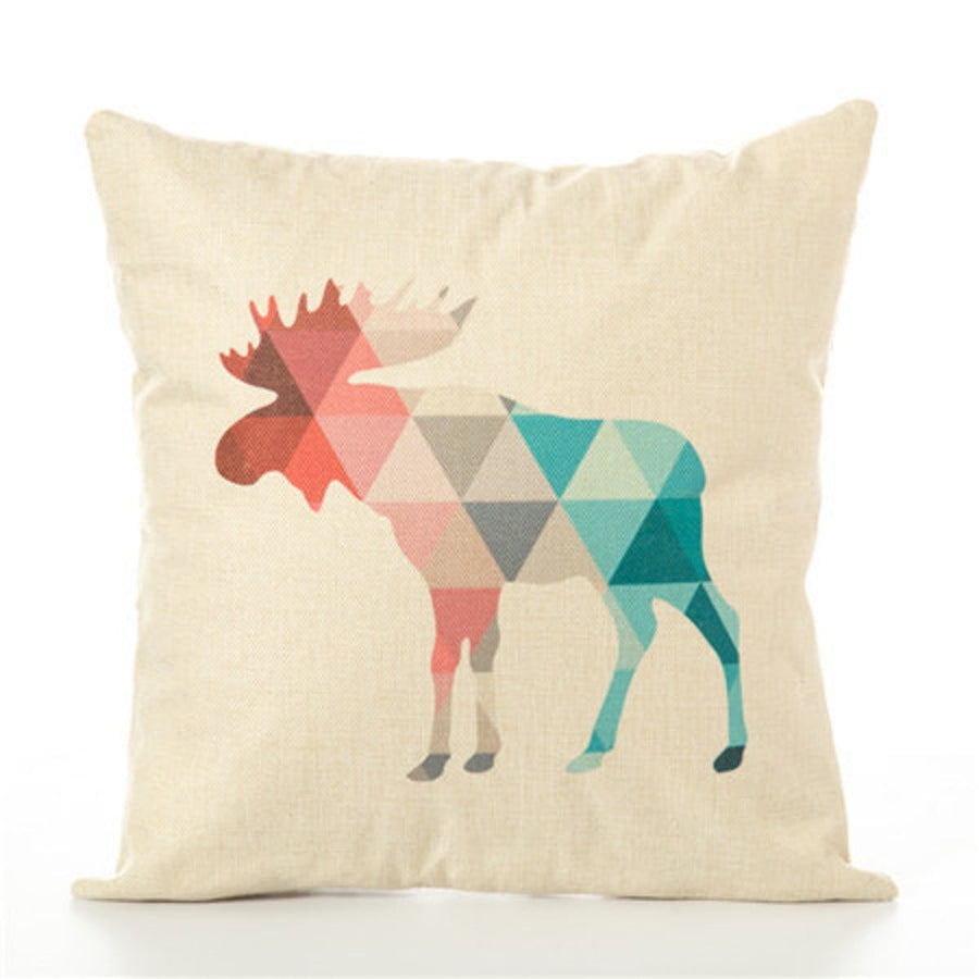Animal Geometric Nordic Cushion Pillow Case Cover Decorative Pillows Decorative Covers Linen Decor Cotton For Sofa Scandinavian pillows pillow animal-geometric-nordic-cushion-pillow-case-cover-decorative-pillows-decorative-covers-linen-decor-cotton-for-sofa-scandinavian 450mm*450mm / Chocolate