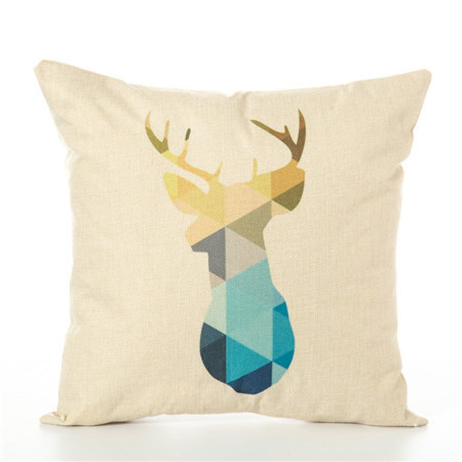 Animal Geometric Nordic Cushion Pillow Case Cover Decorative Pillows Decorative Covers Linen Decor Cotton For Sofa Scandinavian pillows pillow animal-geometric-nordic-cushion-pillow-case-cover-decorative-pillows-decorative-covers-linen-decor-cotton-for-sofa-scandinavian 450mm*450mm / Purple