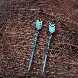 Arrow Drop Earrings Earrings arrow-drop-earrings Patina