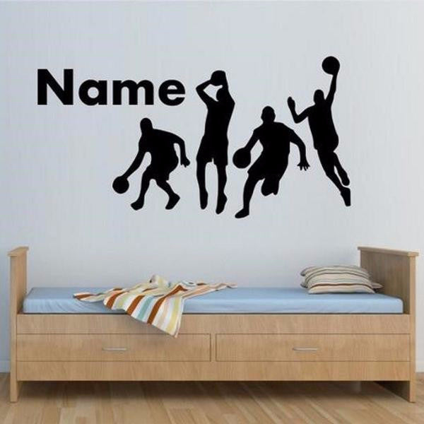 Basketball Player Wall Sticker-Spirylife