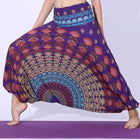 Bohemian Harem Jumpsuit Beach Vacation Lounge Fashion Pants