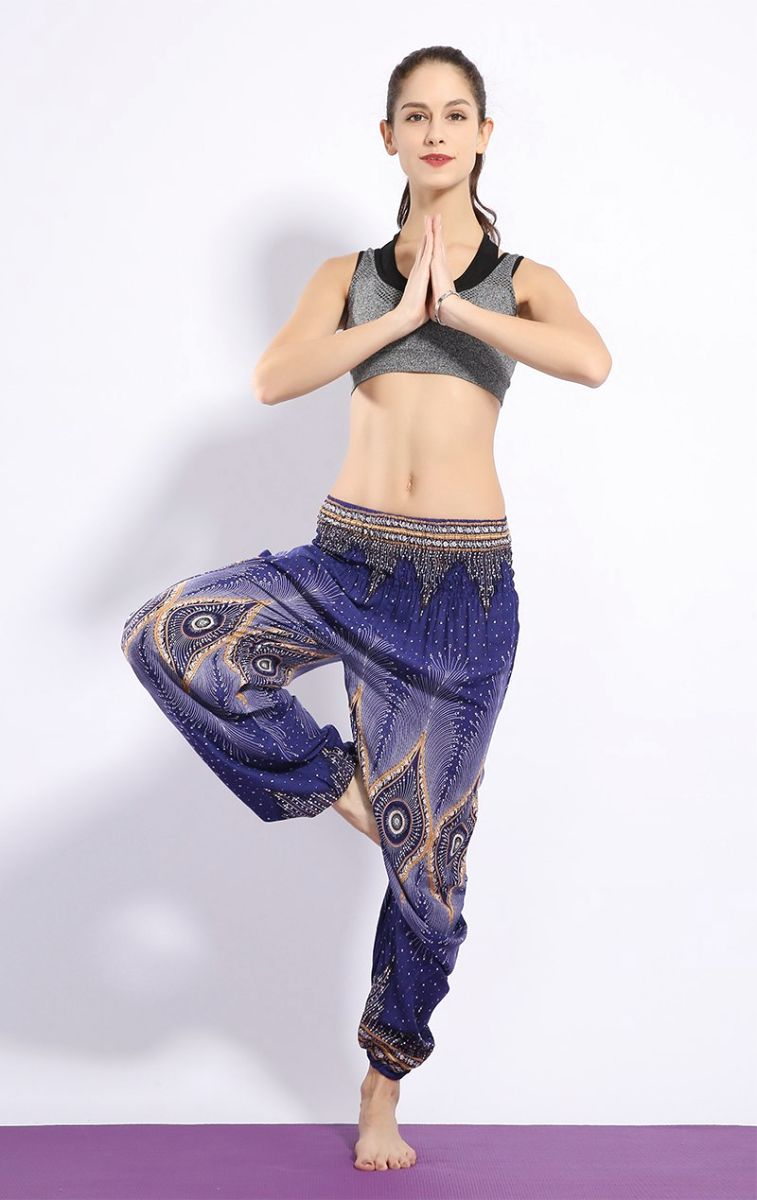 Bohemian Yoga Beach Thai Harem Pants Women Fashion