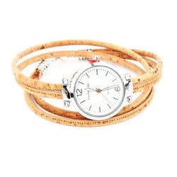 Cork Ladies Watch-Spirylife
