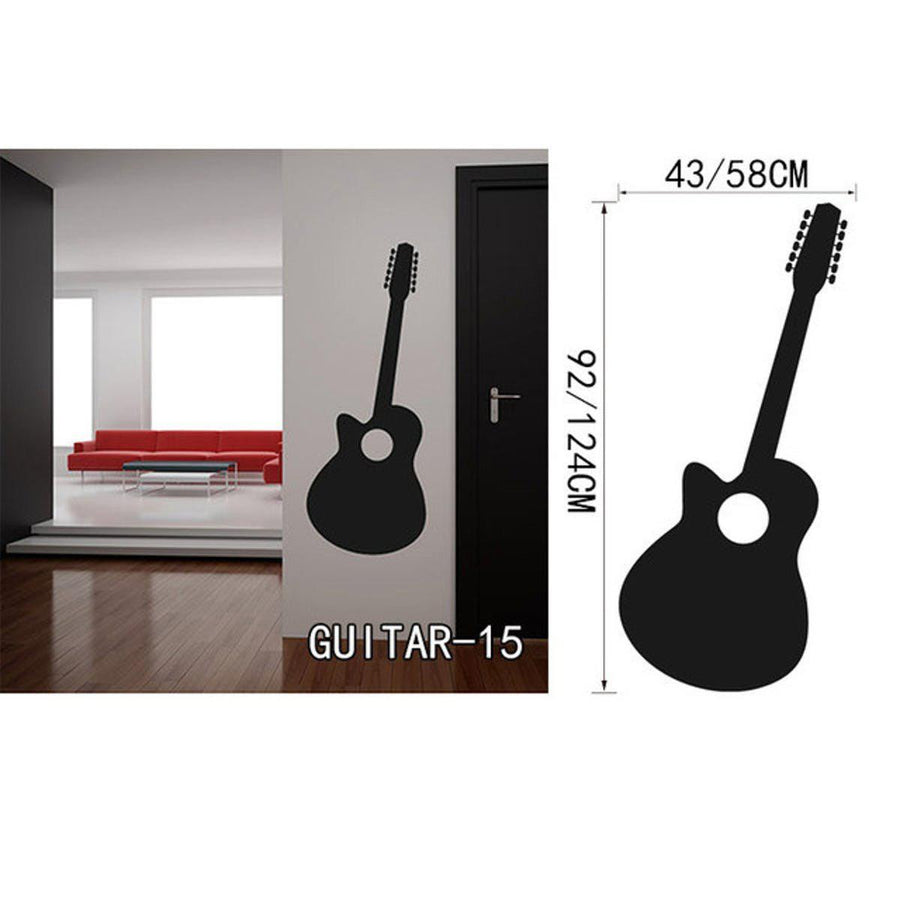 Creative Art Guitar Wall Stickers Music Wall Sticker creative-art-guitar-wall-stickers-home-decor-diy-home-decorations-music-wall-decals-living-room GUITAR15 / Small