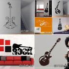 Creative Art Guitar Wall Stickers Music Wall Sticker creative-art-guitar-wall-stickers-home-decor-diy-home-decorations-music-wall-decals-living-room GUITAR1 / Small